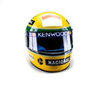 Donington Park (1993) – Réplica do capacete de Ayrton Senna