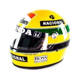 Tri Campeonato Mundial F1 – Réplica do Capacete  de Ayrton Senna(1991)
