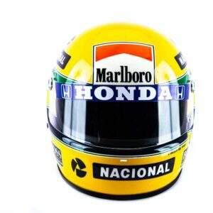 Primeiro Campeonato Mundial – Réplica do Capacete de Ayrton Senna(1988)
